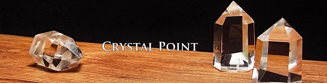 水晶 ポイント 六角柱