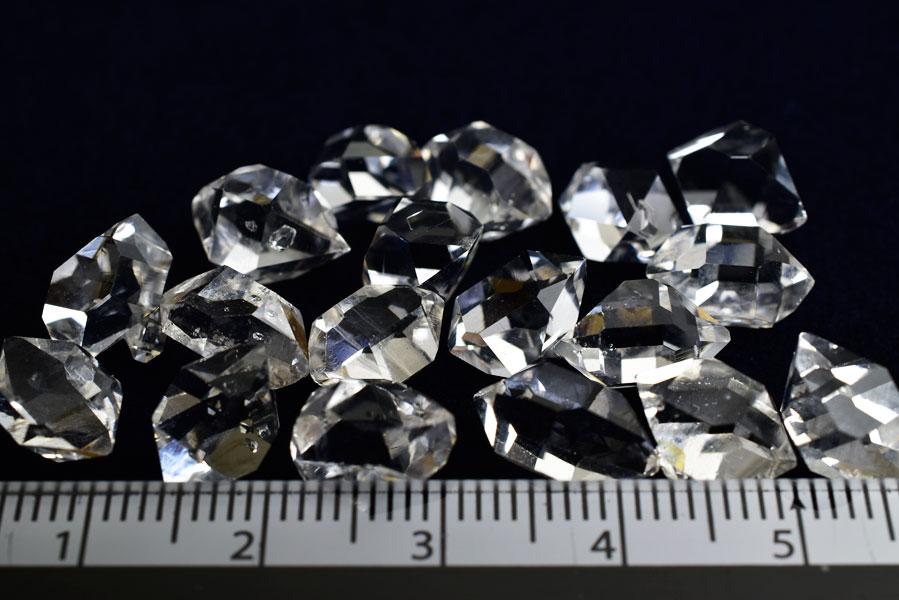 ハーキマーダイヤモンド ハーキマー水晶 クリスタル 単結晶 ポイント 原石 天然石 パワーストーン